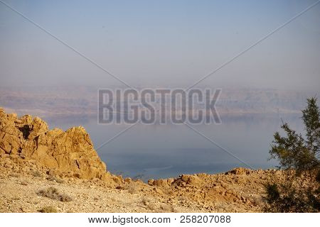 View Of The Jordanian Mountains