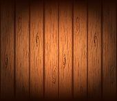Fondo de madera de vector.
