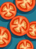 tomates en azul