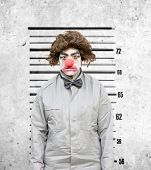 Clown Mug Shot