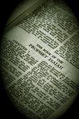 Bible Series Prophet Isaiah In Vignette