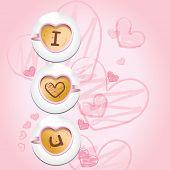 I love u - coffee