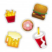 Vector Fast Food Icon