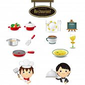 Restaurant Icon set