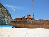 Famous Shipwreck On Zakynthos Greece 3