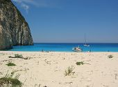 The Shipwreck Beach On Zakynthos