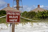 Protected Habitat Sign
