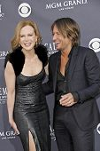 LAS VEGAS - APRIL 3 - Nicole Kidman and Keith Urban attend the 46th Annual Academy of Country Music Awards in Las Vegas, Nevada on April 3, 2011.