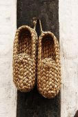 Braided shoes