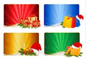 image of polly  - Set of winter christmas backgrounds - JPG