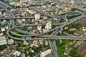 Highways of a city of Bangkok