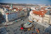 Kinsky Palace and Old Town Square, Prague, Czech Republic