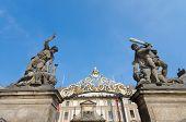 Matthias gate - the Gate to Hradcany, Prague Czech Republic