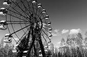 Foto industrial de Chernobyl em Março 2012