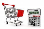 Sopping Cart With Calculator