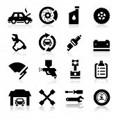 foto of gun shop  - Auto repair Icons - JPG