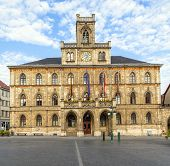 Town Hall Weimar In Germany, Unesco World Heritage Site