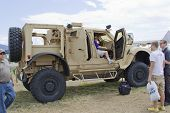 Oshkosh Humvee Side View