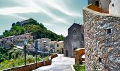 stock photo of messina  - Medieval village of Savoca in the province of Messina  - JPG