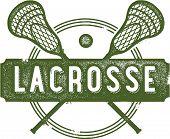 Lacrosse vintage Sport Clip-Art