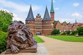 Holstentor. Lubeck, Germany