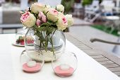 Decoration Of Summer Garden Table
