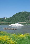 Drachenfels,middle Rhine Valley,Germany
