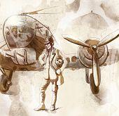 Piloto de bombardero