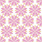Seamless pink trendy ethnic aztec  illustration decorative background pattern in vector