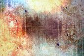 stock photo of scratch  - Abstract grunge background pattern for your text - JPG