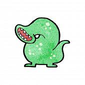 cartoon giant leech