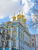 Golden Dome Of Catherine Palace