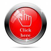 Haga clic aquí icono