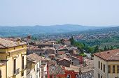 Panoramic view of Melfi. Basilicata. Southern Italy.