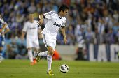 BARCELONA - MAY, 11: Kaka of Real Madrid during the Spanish League match between Espanyol and Real M