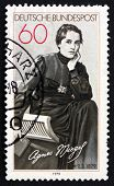 Postage Stamp Germany 1979 Agnes Miegel, Poet