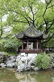 stock photo of yuan  - Ancient Chinese Yu Yuan Garden in Shanghai China - JPG
