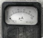 Vintage Ampere Meter
