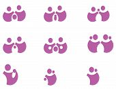 Pack Pictograms on the family