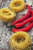 prefabricated tagliatelle pasta