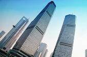 Shanghai  View Of Skyscrapers Pudong