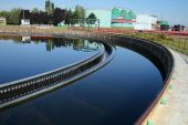 image of turds  - The cleaning construction pool for sewage treatment - JPG
