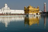 stock photo of hindu temple  - Golden temple  - JPG