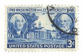 United States Stamp of Washington & Lee University