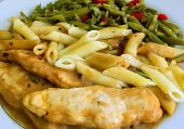 picture of marsala  - photo of delicious chicken marsala - JPG