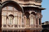 stock photo of eunuch  - Zenana Deodi inner sanctum of the medieval Mehrangarh fort once guarded by eunuchs where the Maharaja - JPG