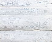 Wooden texture, painted white wood background