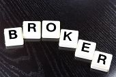The Word Broker - A Term Used For Business, Finance and Tax Concept