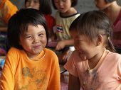Poor Children ,smile