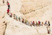 Hiking In Judean Desert.